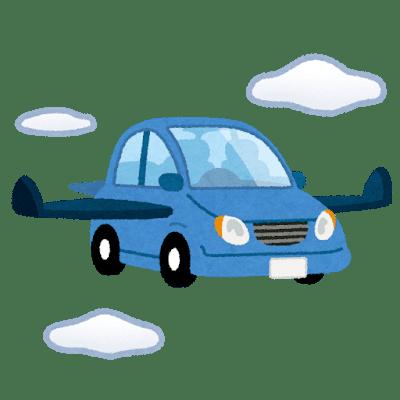空飛ぶ車イメージ